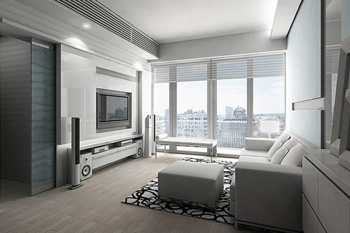 一號銀海living room